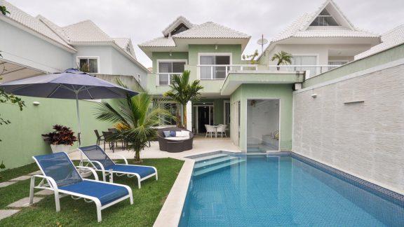 Piscina Casa Condomínio Blue Houses
