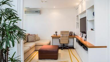 sala apartamento São Conrado