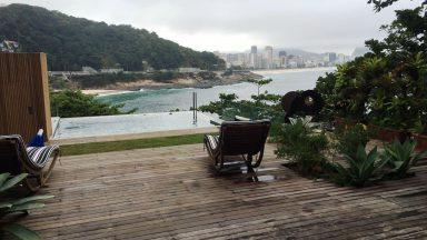 vista deck casa São Conrado