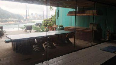 varanda casa São Conrado