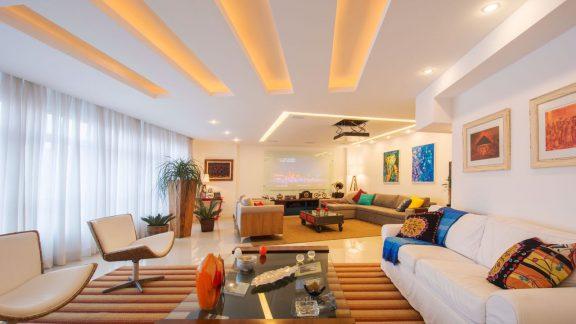 Sala apartamento Lagoa