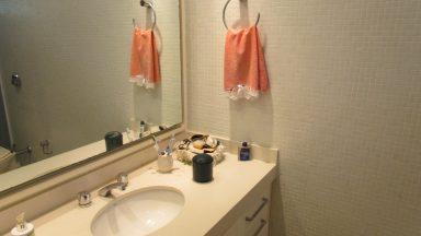 Banheiro suíte casa santa lucia