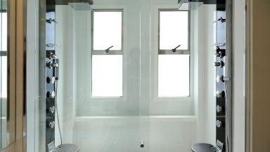 Banheiro Suíte master apto Península