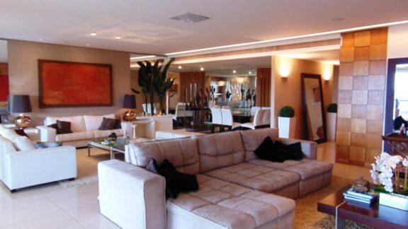 sala ampla apartamento riserva uno