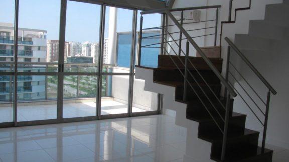 sala cobertura Santa Mônica