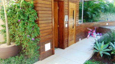 sauna casa São Conrado
