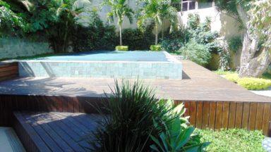 piscina casa São Conrado