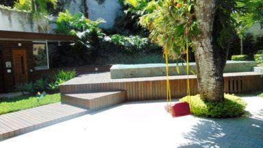 área externa casa São Conrado