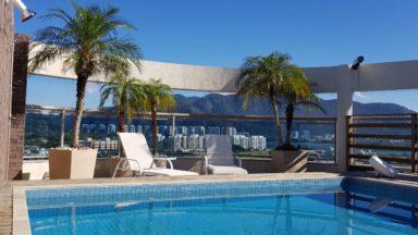 piscina cobertura santa mônica jardins