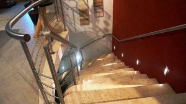 escada casa santa mônica jardins