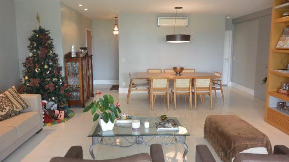sala apartamento Santa Mônica Jardins Condominium Club
