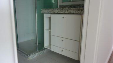 banheiro apartamento Blue One