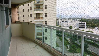 varanda apartamento Blue One