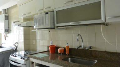 cozinha apartamento pedra de itaúna