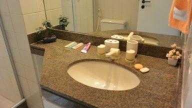 banheiro social apartamento pedra de itaúna