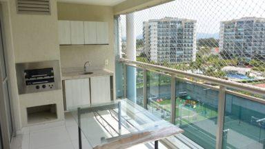 varanda apartamento santa mônica jardins