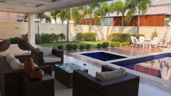 Condomínio Santa Mônica Jardins Casa 5 quartos Barra da Tijuca Q5CSP6368