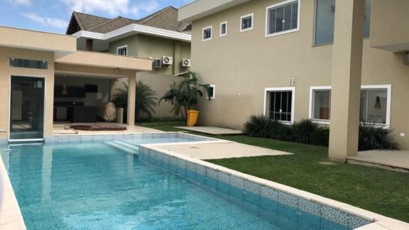 Condomínio Santa Mônica Jardins Casa 5 quartos Barra da Tijuca Q5CSL6593