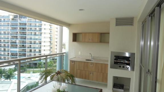 Condomínio Santa Mônica Jardins Condominium Club Apartamento 4 quartos Barra da Tijuca Q4APA1176
