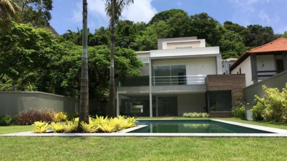 Condomínio Jardim do Itanhangá Casa 4 quartos Barra da Tijuca Q4CSP6693