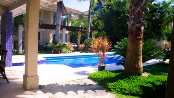 Condomínio Santa Mônica Jardins Casa 5 quartos Barra da Tijuca Q5CSP6700
