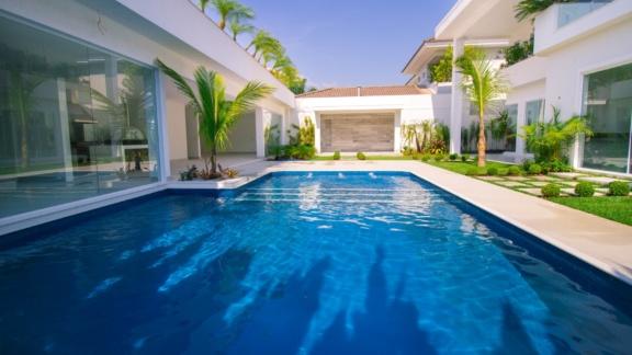 Condomínio Santa Mônica Jardins Casa 5 quartos Barra da Tijuca Q5CSV1484