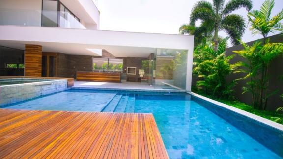 Condomínio Santa Mônica Jardins Casa 5 quartos Barra da Tijuca Q5CS6024